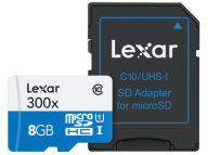 lexar-8gb-microsdhc-high-speed-with-adapter-(class-10)